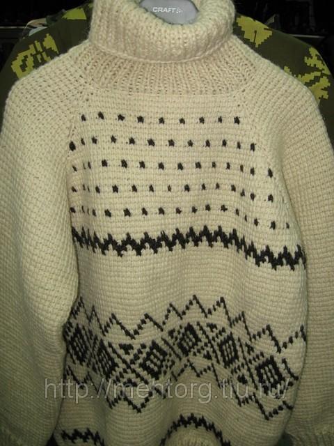 Вязание свитер для рыбака 24