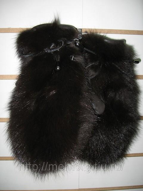 мехове шапки: выкройка жилетки из меха размера.