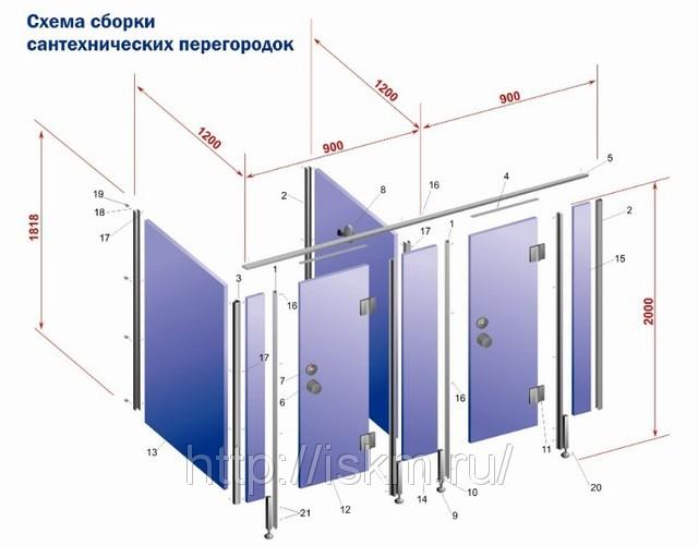 Схема по монтажу и установке