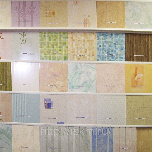 стеновые панели пвх фото в интерьере