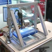 """Конструктор трехкоординатных станков с числовым программным управлением  """"Кулибин """"."""