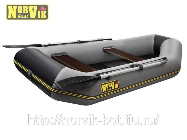 Купить надувную лодку ПВХ с транцем Norvik 250M