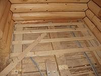 схема устройства деревянных полов - Практическая схемотехника.
