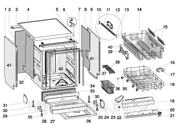 Ремонт посудомоечная машина bosch своими руками