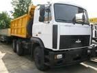 ДТП в Киеве: водитель Chevrolet не заметил грузовик МАЗ.