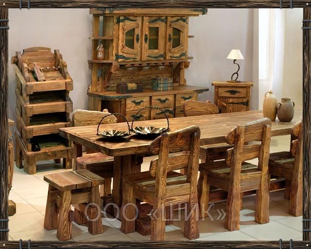 Мебель из дерева под старину 3.