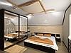 Рпальня в японском стиле, ракурс.