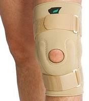 Бандаж NKN-139 на коленный сустав с металическими шарнирами.