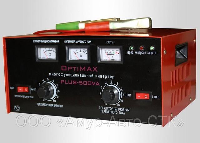 Зарядное устройство OPTIMAX PLUS-500VA.  Благовещенск.