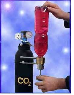 Мини-производство газированных напитков в бутылках из pet.