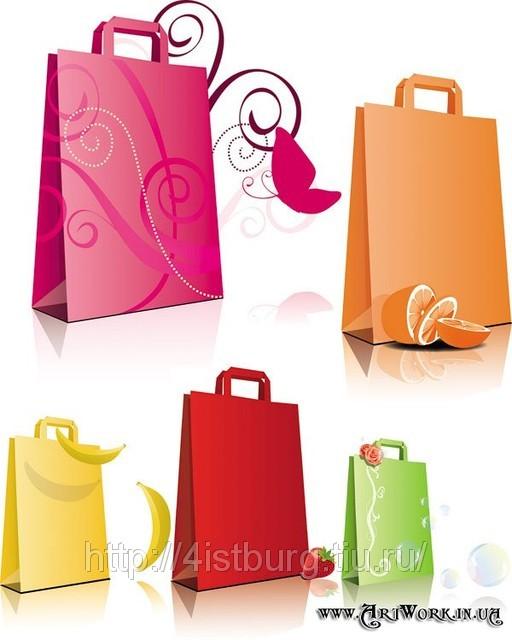 Бумажные пакеты, бумажные мешки, картонные коробки и.