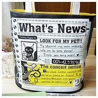 You save.  Яркая сумка для любителей новостей и чего-то новенького.
