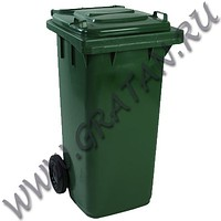 Тележки уборочные тел075, урны космос, контейнер д/мусора 240л, 1, 1.