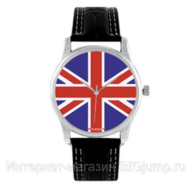 Часы наручные Британский флаг.